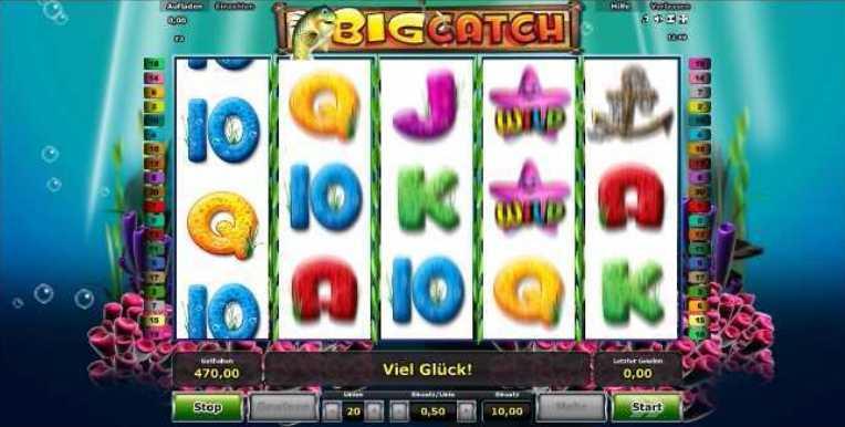 Spielstart von BigCatch