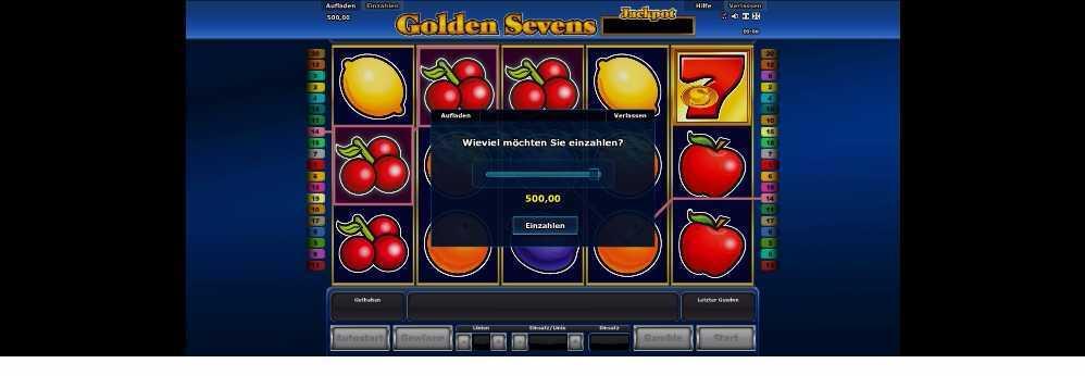 Golden Sevens Einzahlung