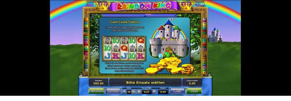 Rainbow King Feature