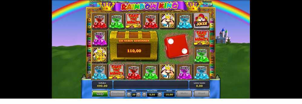 Rainbow King Feature Spiele