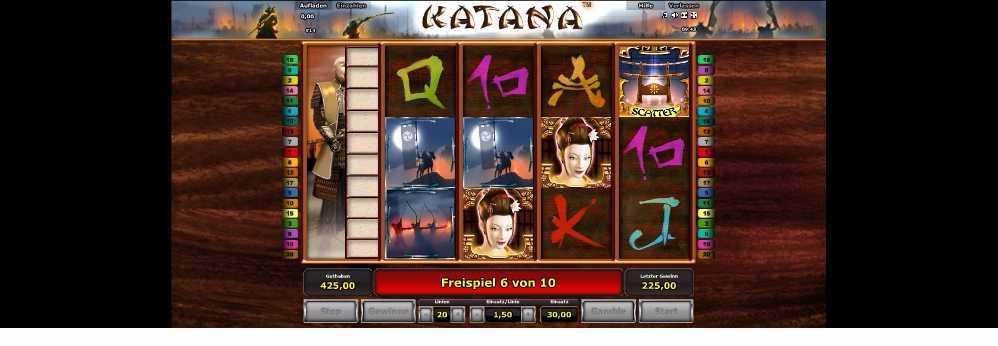 Katana Freispiele