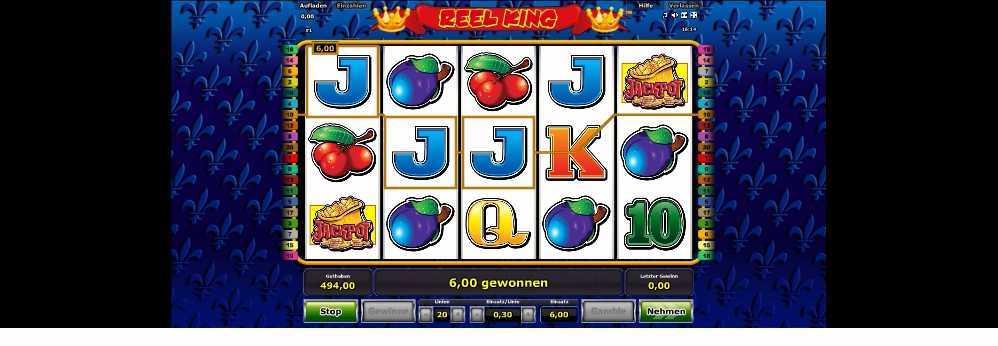 Reel King 6 Euro gewonnen