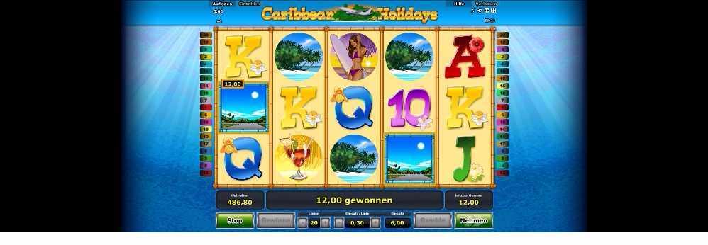 Caribbean Holidays 12 Euro gewonnen