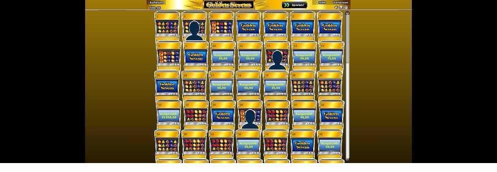 Golden Sevens Spiellobby