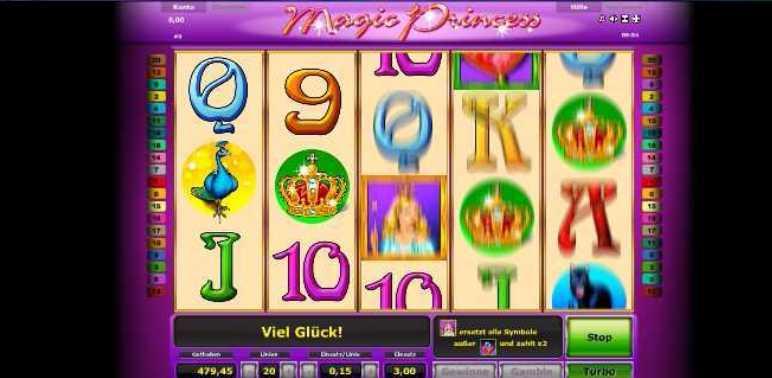 Magic Princess Das Spiel startet