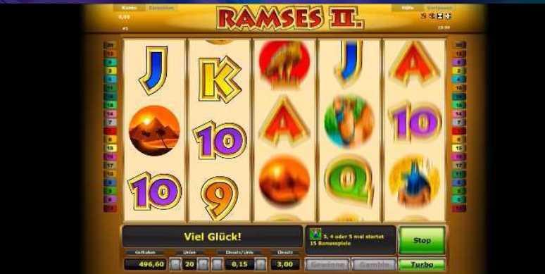 Spielstart von Ramses II