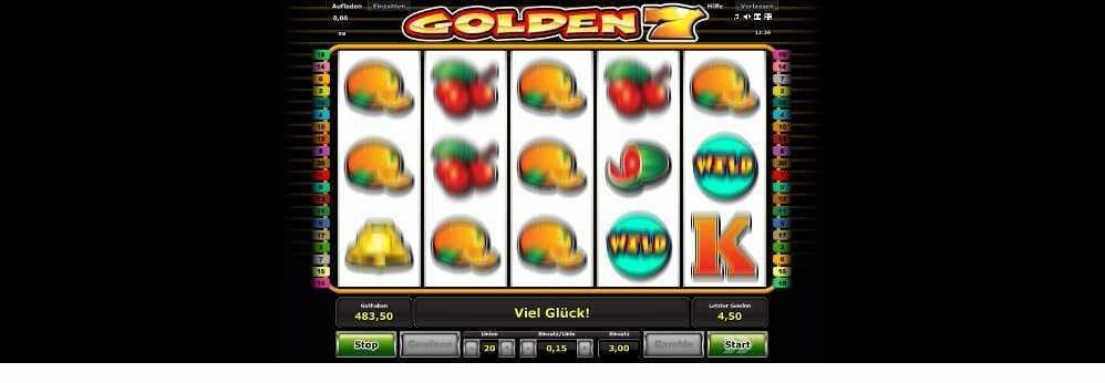 Golden 7 die Walzen laufen