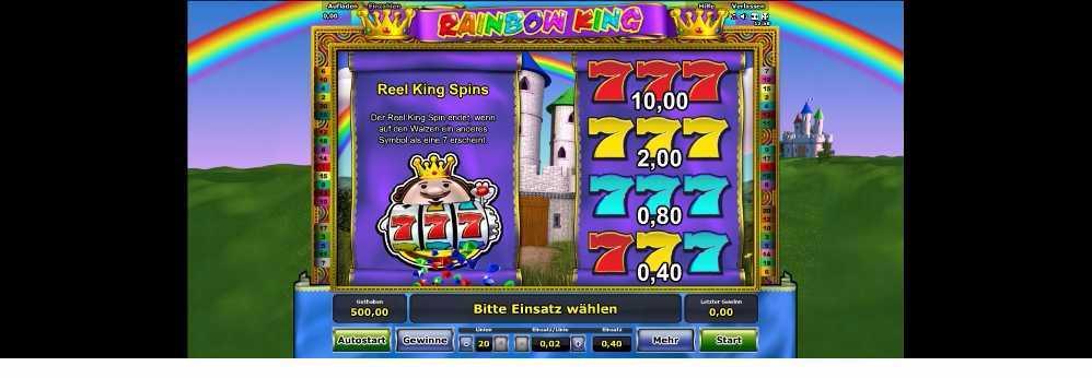 Rainbow King Spins