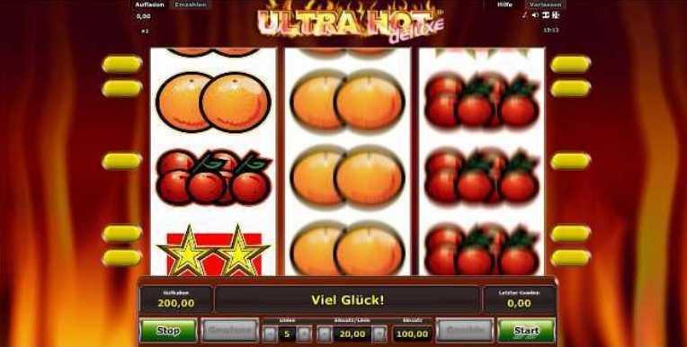 Ultra Hot Spielstart Bild