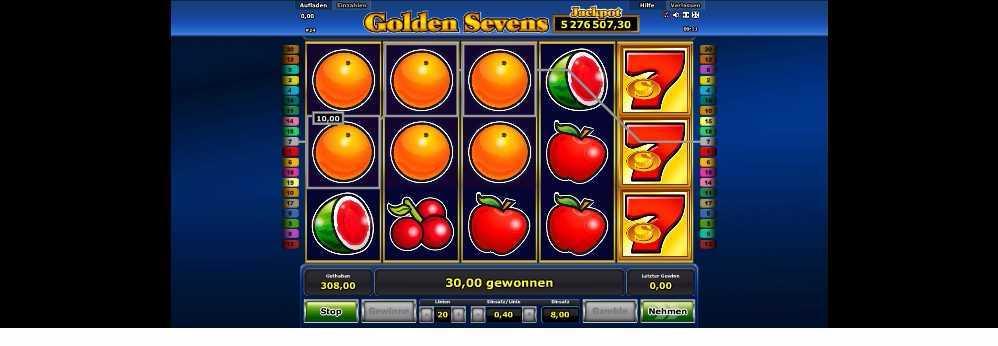 Golden Sevens Gewinn