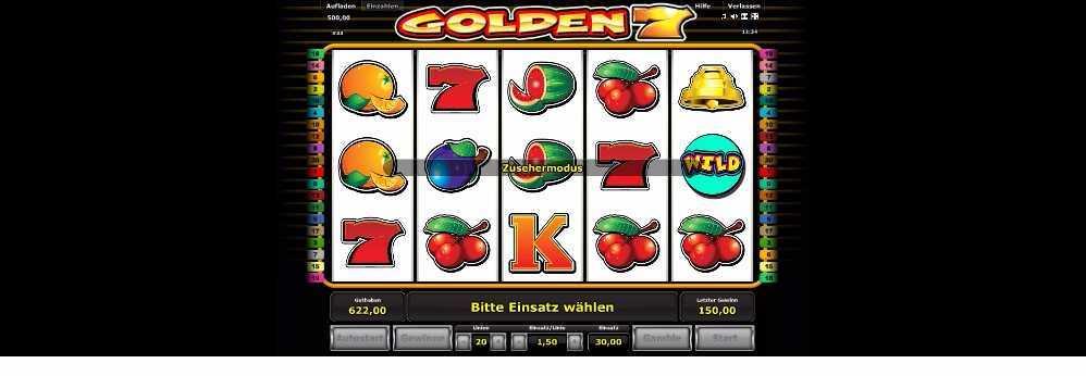 Golden 7 Zusehermodus
